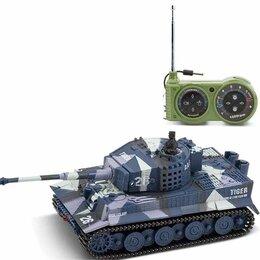 Радиоуправляемые игрушки - Радиоуправляемый танк Great Wall Tiger (серый камуфляж, 40MHz, 1:72) - 2117-3, 0