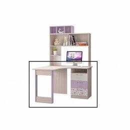 Компьютерные и письменные столы - Стол Письменный Угловой Адель, 0