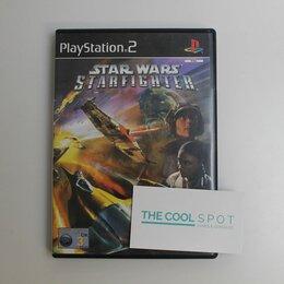 Игры для приставок и ПК - Игра Star Wars StarFighter для Playstation 2, 0