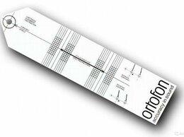 Аксессуары для проигрывателей виниловых дисков - Шаблон настройки винилового проигрывателя Ortofon, 0