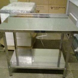 Мебель для учреждений - Стол производственный 1000*600*850 с бортом новые, 0