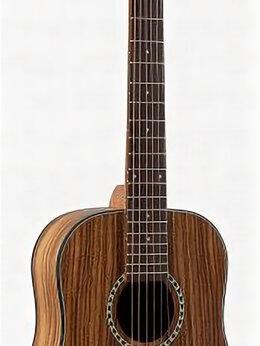 Акустические и классические гитары - Flight TR-1000 TEAK тревел гитара, цвет натур, 0