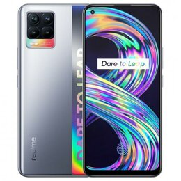 Мобильные телефоны - Realme 8 6/128 Cyber Silver, 0