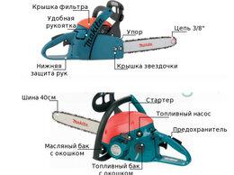 Электро- и бензопилы цепные - Бензопила Макита 4610, 0