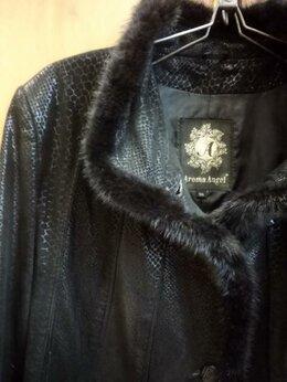 Куртки - куртка женская  блестящая кожа 48-50, 0