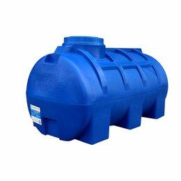 Баки - Бак для воды 500 литров горизонтальный Аквапласт, 0