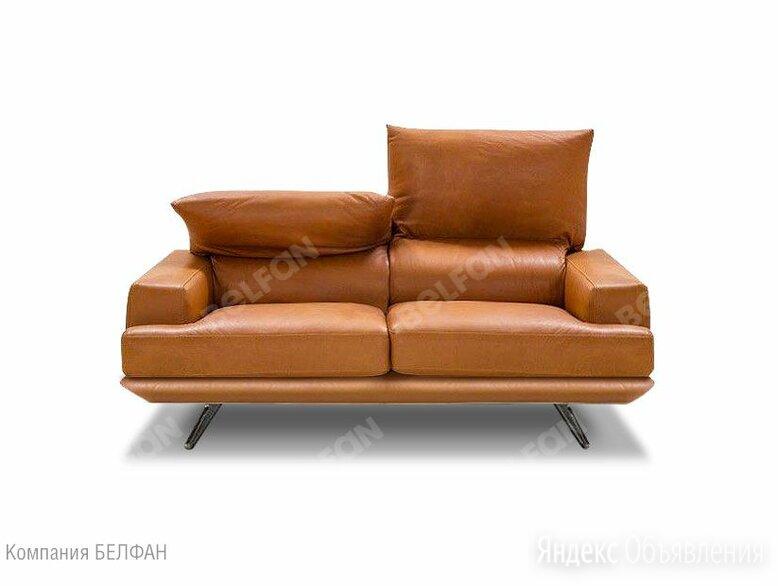 """""""Капристо"""" диван 2-х местный; нераскл.; 22; начальная группа кожи по цене 198628₽ - Диваны и кушетки, фото 0"""