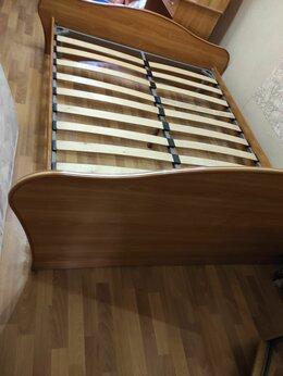 Кровати - Двухспальная кровать без матраса, 0