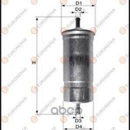 Отопление и кондиционирование  - Фильтр Топливный Bmw 3 E36/E46 90-05, 5 E34/E39 92-00 EUROREPAR арт. E145078, 0