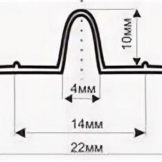 Пиломатериалы - Маячок под штукатурку 10мм х 3 м.п., 0
