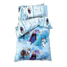 Постельное белье - Постельное бельё 1,5 сп 'Холодное сердце' , размер 143х215 см, 150х214 см, 50..., 0