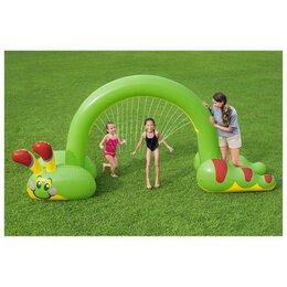 Аксессуары для плавания - Bestway Игрушка надувная Jumbo Caterpillar, 338 x 110 x 188 см, с распылителе..., 0