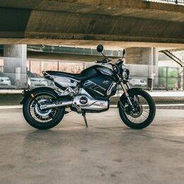 Мото- и электротранспорт - Электромотоцикл Super Soco TC MAX, 0