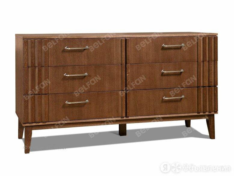 """Комод """"Chicago"""" (6 ящиков); лесной орех по цене 60697₽ - Мебель для кухни, фото 0"""