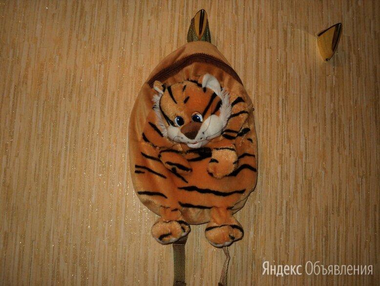 Рюкзак детский тигренок по цене 200₽ - Рюкзаки и сумки-кенгуру, фото 0