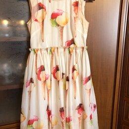 Платья - Шифоновое платье, 0