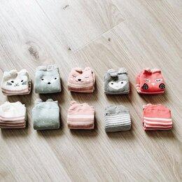 Носки - Детские носки с веселыми зверятами, 0