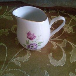 Посуда - Фарфор молочник сливочник времён СССР Богемия фарфор Чехословакии, 0