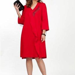 Платья - Платье 1836 TEZA красное Модель: 1836, 0