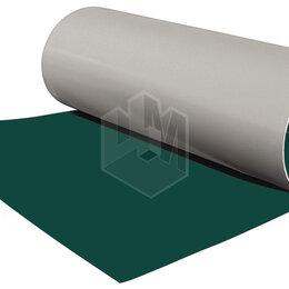 Кровля и водосток - Гладкий плоский лист рулонной стали RAL6005 Зеленый Мох ш1.25 т0.45мм, 0