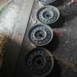 Шины, диски и комплектующие - Диски штампованные на нисан примера , 0