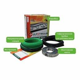 Электрический теплый пол и терморегуляторы - Теплый пол Gulfstream КГС2-150Вт (0,75 м²-1,2 м²) под плитку в стяжку пола, 0