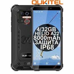 Мобильные телефоны - НОВЫЕ Смартфоны Oukitel WP5 Black IP68 8000mAh 4/32GB, 0