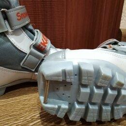 Ботинки - Лыжные ботинки, почти новые, носили один сезон, размер 33-34, 0