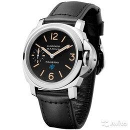Наручные часы - Наручные часы Panerai luminor marina logo STE LEA BK, 0