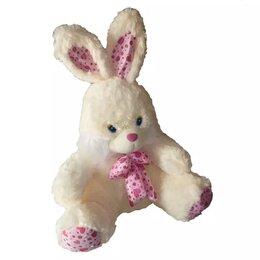 Игровые наборы и фигурки - Заяц розовый бант сердечки Огромный 90см, 0