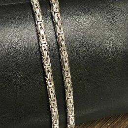 Цепи - Цепь из серебра 925 лисий хвост, 0
