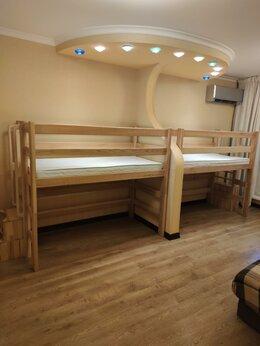 Кроватки - Детская кровать чердак с матрасом - 2 шт, 0