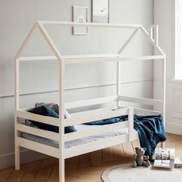 Кроватки - Кроватка  домик , 0