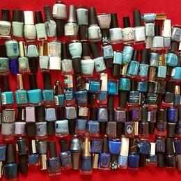 Лак для ногтей - Лаки из личной коллекции (голубые/синие/фиолет), 0