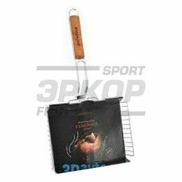 Решетки - Решётка-гриль Biostyle семейная с антипригарным покрытием глубокая 28х22 см, 0