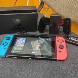 Игровые приставки - Игровая приставка Nintendo Switch rev.2 32 гб, 0