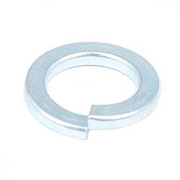 Шайбы и гайки - Оцинкованная пружинная шайба Стройбат 18 мм DIN 127, 0