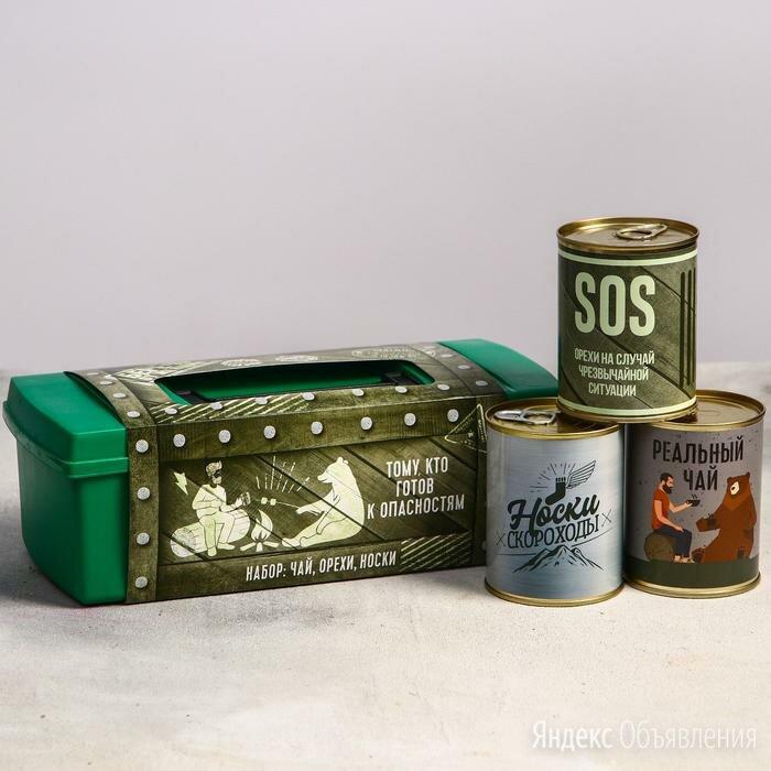 Подарочный набор в ящике «Беречь от женщин» по цене 950₽ - Ёмкости для хранения, фото 0
