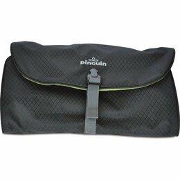Дорожные и спортивные сумки - Несессер Foldable washbag L PINGUIN, черный, 0