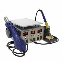 Электрические паяльники - Паяльная станция kada 9803d+ 3 в 1 фен + паяльник + сепаратор, 0