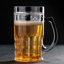 Кружки, блюдца и пары - Кружка для пива охлаждающая, 450 мл, 0