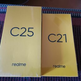 Мобильные телефоны - Realme c25 4/64 черный новый запечатанный, 0