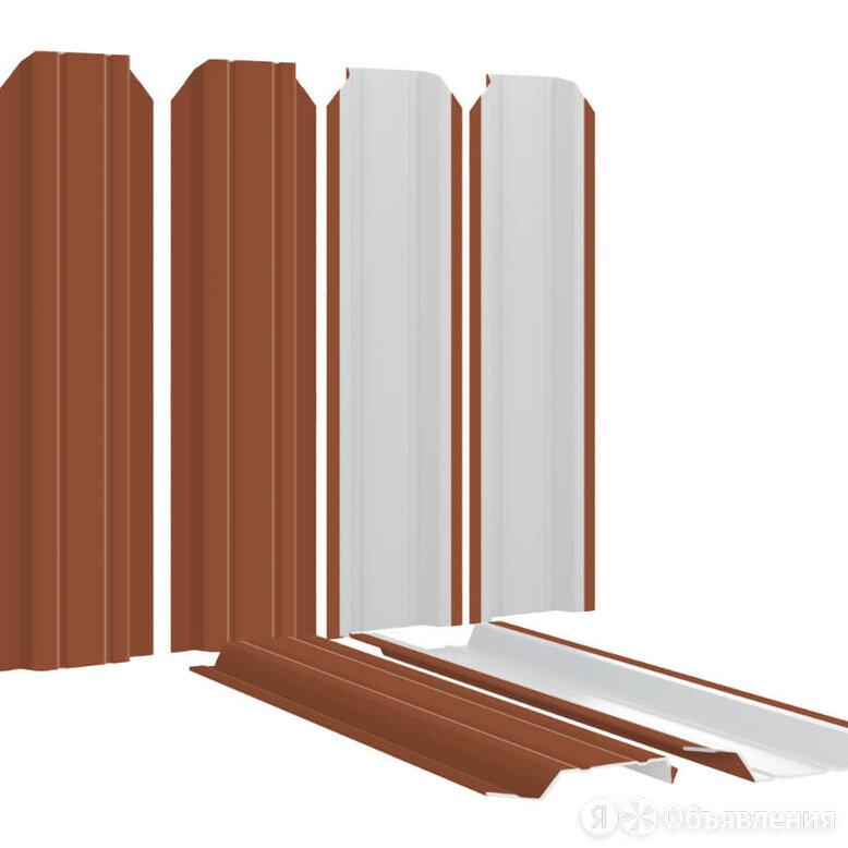 Штакетник металлический Узкий 85мм RAL8004 Терракотовый по цене 134₽ - Заборы, ворота и элементы, фото 0