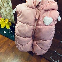 Комплекты верхней одежды - Костюм и жилет для девочки 92, 0