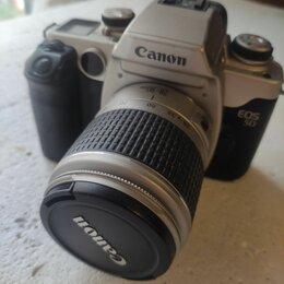 Пленочные фотоаппараты - Плёночный  зеркальный фотоаппарат Canon eos 50, 0
