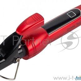 Щипцы, плойки и выпрямители - Щипцы для завивки Polaris  Phs2510k красный , 25 мм, Led дисплей, 0
