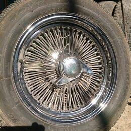Шины, диски и комплектующие - спицованые диски с резиной д.16, 0
