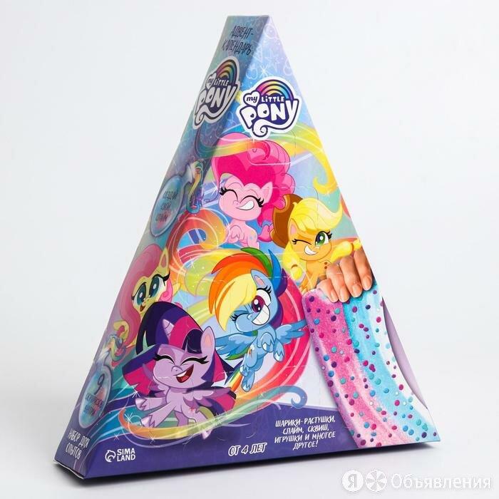 Набор для опытов, Адвент-календарь, My little pony по цене 1307₽ - Игровые наборы и фигурки, фото 0