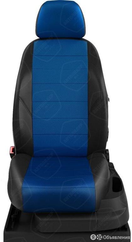 Чехлы на сидения Toyota Rav 4 2006 2012 Черный/Синий (арт.TA27-1003-EC05) по цене 7070₽ - Аксессуары для салона, фото 0