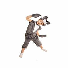 Карнавальные и театральные костюмы - Костюм детский Волк (116см), 0